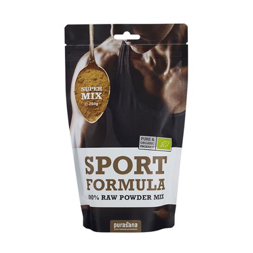 Purasana Superfood SPORT Super Mix 100 % Raw Powder BIO 250 Gramm