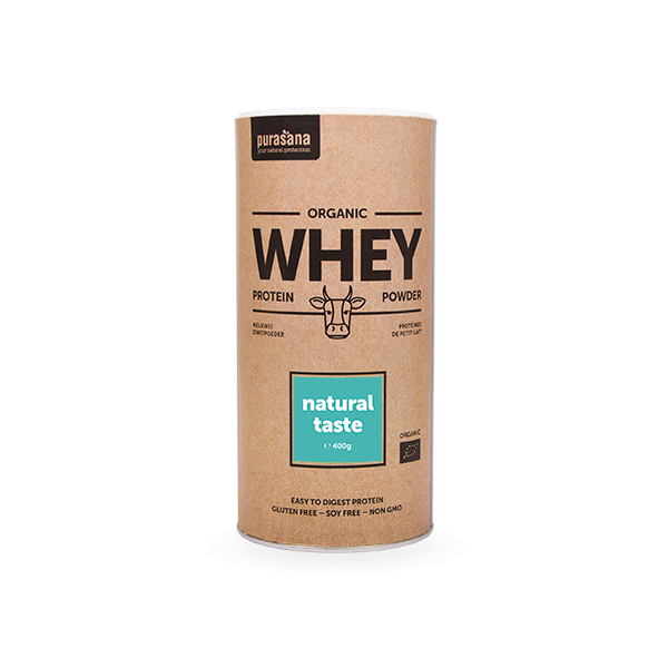 Organic WHEY - MOLKE Protein NATURAL 80 % 400 Gramm BIO