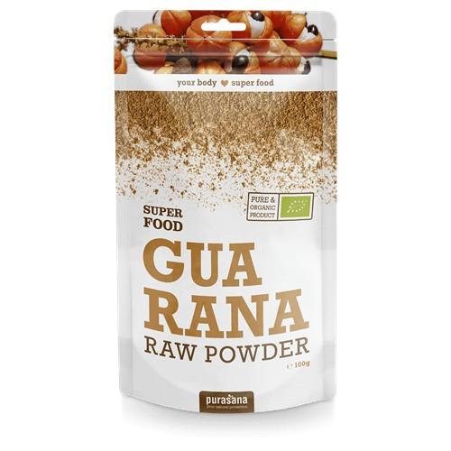 Purasana Superfood GUARANA Powder BIO 100 Gramm Brasilien