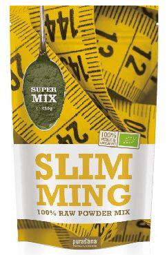 Purasana Superfood SLIMMING Super Mix 100 % Raw Powder 250 Gramm