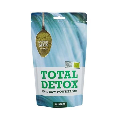 Purasana Superfood DETOX Super Mix 100 % Raw Powder BIO 250 Gramm